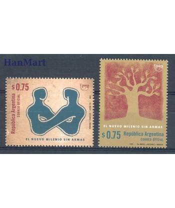 Argentyna 1999 Mi 2497-2498 Czyste **