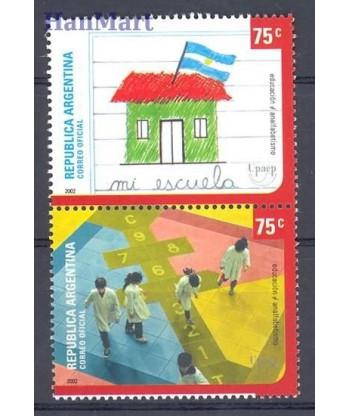 Argentyna 2002 Mi 2709-2710 Czyste **