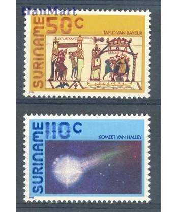Surinam 1986 Mi 1170-1171 Czyste **
