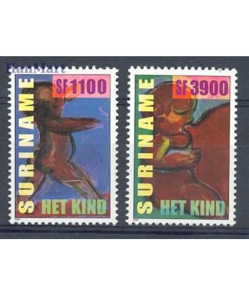 Surinam 2000 Mi 1757-1758 Czyste **