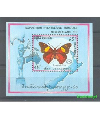 Kambodża 1990 Mi bl 176 Czyste **