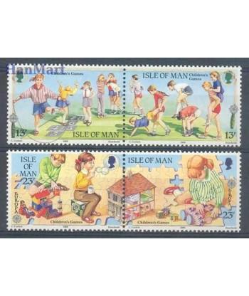 Wyspa Man 1989 Mi 404-407 Czyste **