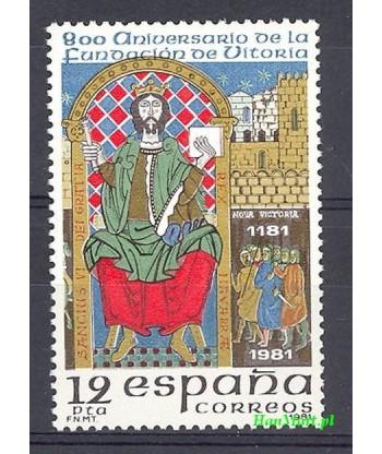 Hiszpania 1981 Mi 2508 Czyste **