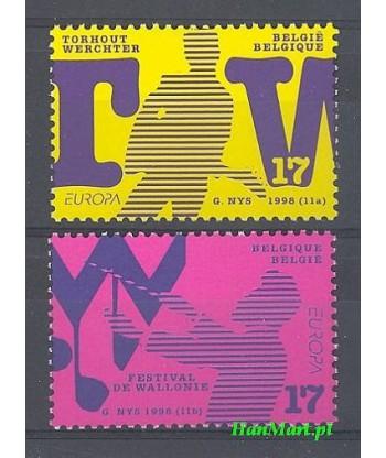 Belgia 1998 Mi 2810-2811 Czyste **