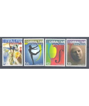 Gibraltar 2003 Mi 1032-1035 Czyste **