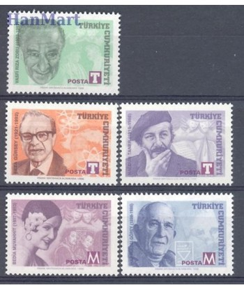 Turcja 1998 Mi 3168-3172 Czyste **