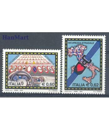 Włochy 2004 Mi 2961-2962 Czyste **
