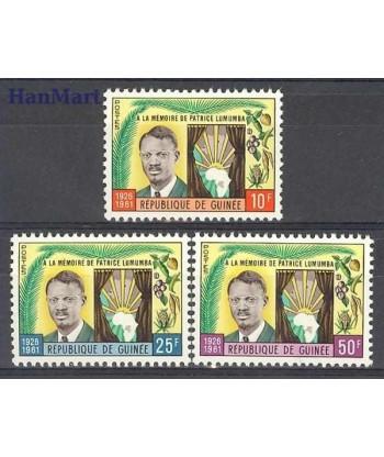 Gwinea 1962 Mi 92-94 Czyste **