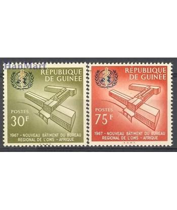 Gwinea 1967 Mi 464-465 Czyste **