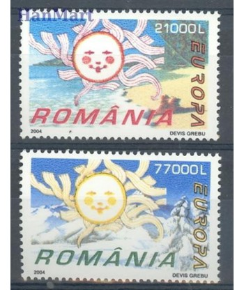 Rumunia 2004 Mi 5822-5823 Czyste **