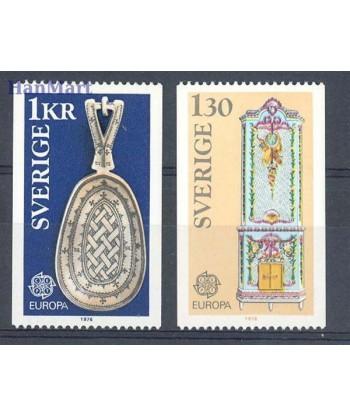 Szwecja 1976 Mi 943-944 Czyste **