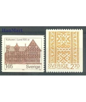 Szwecja 1982 Mi 1193-1194 Czyste **