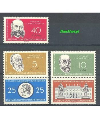 Niemiecka Republika Demokratyczna / DDR 1960 Mi 795-799 Czyste **