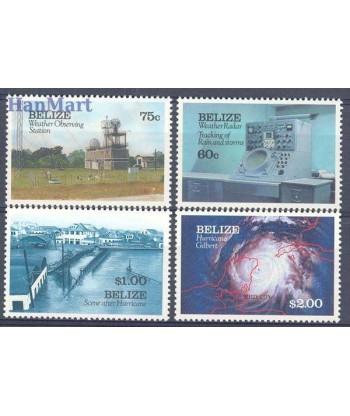 Belize 1991 Mi 1070-1073 Czyste **