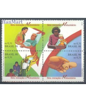 Brazylia 1998 Mi 2818-2821 Czyste **