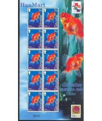 Gibraltar 2001 Mi 962-965 Czyste **