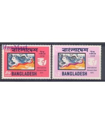 Bangladesz 1975 Mi 57-58 Czyste **