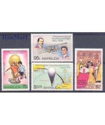 Antigua i Barbuda 1978 Mi 430-433 Czyste **