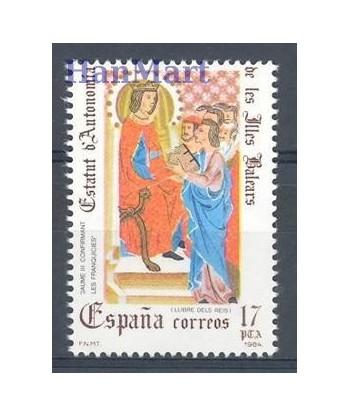 Hiszpania 1984 Mi 2640 Czyste **