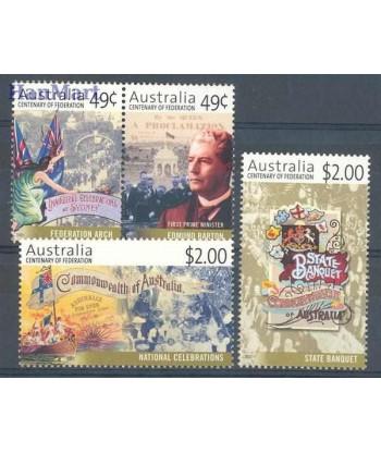 Australia 2001 Mi 2005-2008 Czyste **