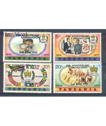 Tanzania 1978 Mi 99-102 Czyste **
