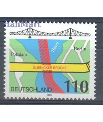 Niemcy 1998 Mi 1967 Czyste **