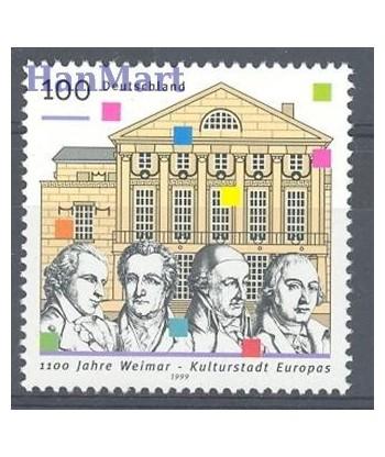 Niemcy 1999 Mi 2028 Czyste **