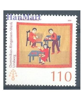 Niemcy 1999 Mi 2065 Czyste **
