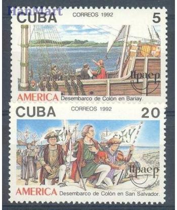 Kuba 1992 Mi 3569-3570 Czyste **
