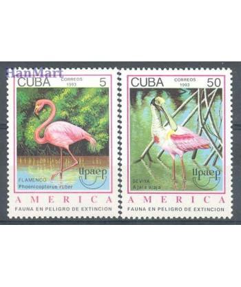 Kuba 1993 Mi 3705-3706 Czyste **