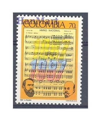 Kolumbia 1988 Mi 1724 Czyste **