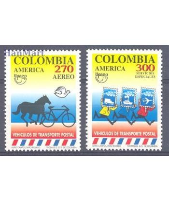 Kolumbia 1994 Mi 1950-1951 Czyste **