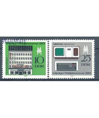Niemiecka Republika Demokratyczna / DDR 1983 Mi 2779-2780 Czyste **