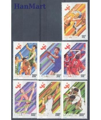 Wietnam 1990 Mi 2204-2210 Czyste **