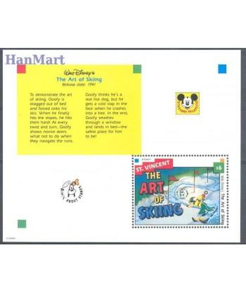 St Vincent 1992 Mi bl 243 Czyste **