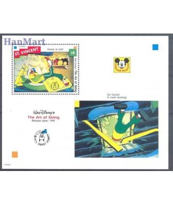 St Vincent 1992 Mi bl 244 Czyste **