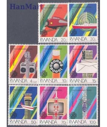 Rwanda 1984 Mi 1259-1266 Czyste **