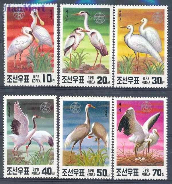 Korea Północna 1991 Mi 3174-3179...