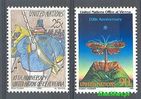 United Nations New York 1989 Mi...