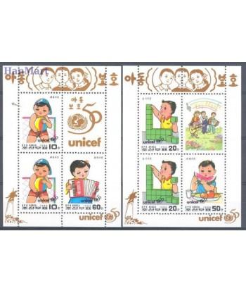 Korea Północna 1996 Mi 3865-3868 Czyste **