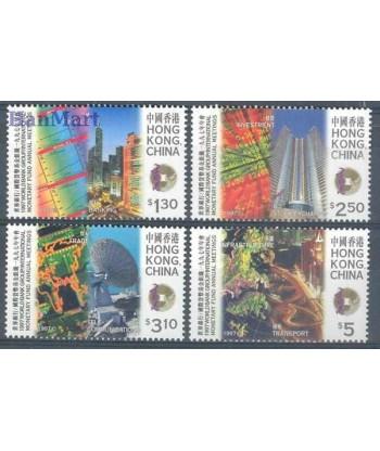 Hong Kong 1997 Mi 826-829 Czyste **