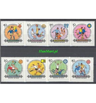 Mongolia 1982 Mi 1467-1474 MNH