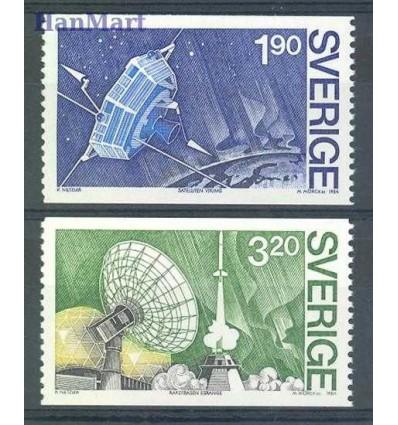Szwecja 1984 Mi 1305-1306 Czyste **