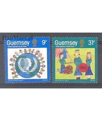 Guernsey 1985 Mi 320-321 Czyste **