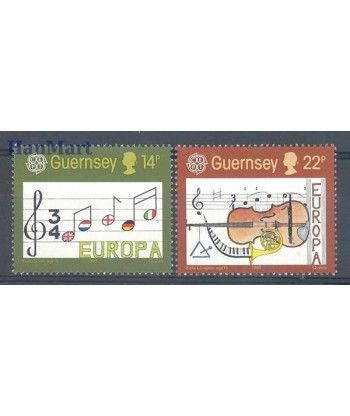 Guernsey 1985 Mi 322-323 Czyste **