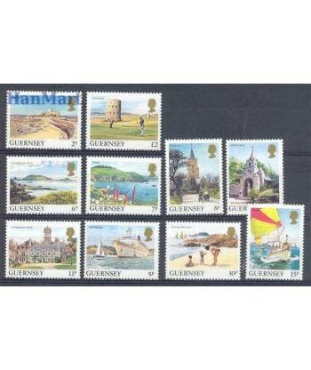 Guernsey 1985 Mi 325-334 Czyste **