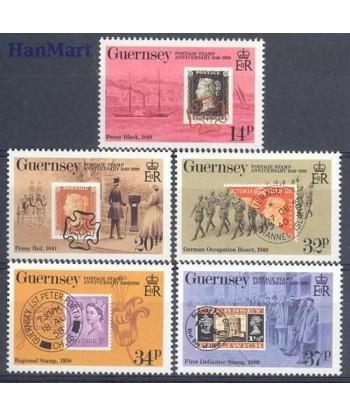 Guernsey 1990 Mi 487-491 Czyste **