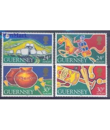 Guernsey 1994 Mi 635-638 Czyste **