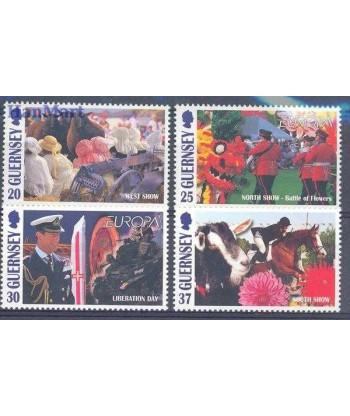 Guernsey 1998 Mi 782-785 Czyste **