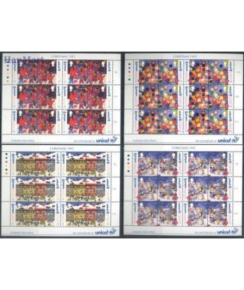 Guernsey 1995 Mi 682-689 Czyste **